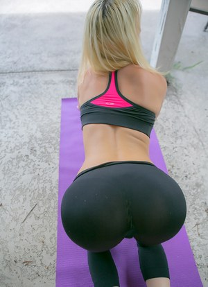 Pants big butt yoga